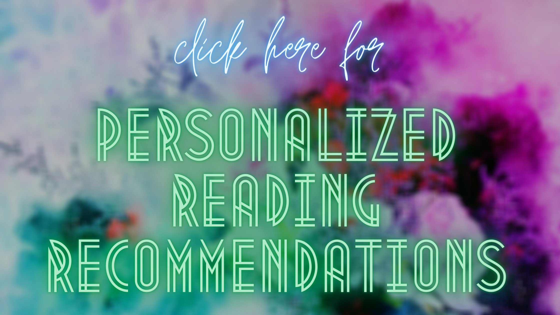Teens Personalized Reading Recommendations